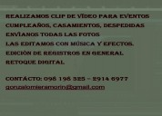 EdiciÓn de video - fotomontaje