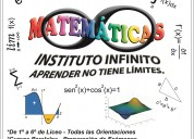 Clases particulares de Matematica Liceo UTU y Calculo I y II en Montevideo