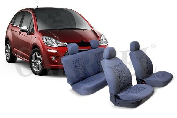 Cubre asientos para Citroen C3 y Chevrolet Onix banco trasero bipartido Otros