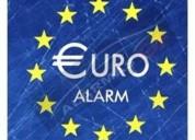 Alarma euro 2 bloqueos instalacion incluida otros
