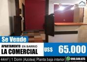 Departamento en venta en la comercial montevideo u s 1 dormitorios