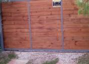 Corredizos pibotantes hierro y madera