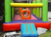 Castillo inflable cama elastica hs 3 y algodon 1250