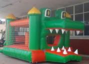 alquiler de castillos inflables y camas