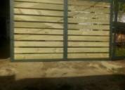 Trabajo en hierro portones techos estructuras en hierro herreria