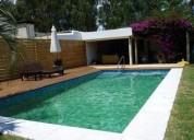 Hermosa cabana con piscina a 3 cuadras del mar 3 dormitorios