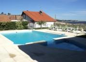 alquiler casa con piscina frente al mar capacidad 12 personas 5 dormitorios