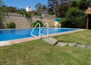 Playa mansa a 1 cuadra del mar con piscina 4 dormitorios
