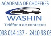 Academia de choferes washin