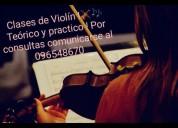 clases particulares de violin