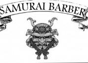 Samurai peluqueria masculina cursos de barberia barrio sayago