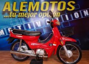 Ale motosss eco 70 flamante 5000 kms