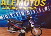 Ale motoss blitz 110 al dia nueva 4500 kms