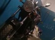 Moto mondial negra perfecto estado en montevideo