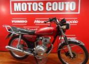 Winner cg 125 ijual a cero kil con tan solo 1500 kilometros motos couto en montevideo