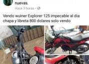 Moto wuiner explorer 15000 kms