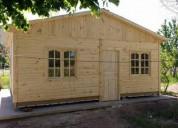 Cabanas prefabricadas desde 55 mil pesos en montevideo