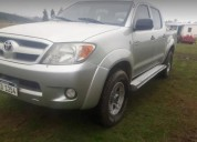 Toyota hilux 2 5 turbo 4 x 2 no permuto cars