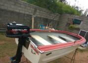 Bote con Motor Y Trailer cars