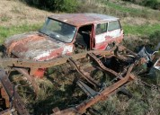 Vendo chasis camioneta nissan d21 cars