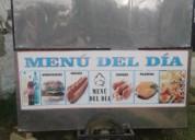Vendo carro de comida cars