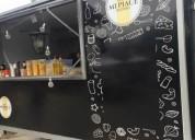 Food truck gastronomico totalemente equipado