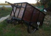 vendo trailer o prollecto de casita rodate cars