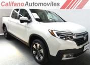 Honda ridgeline 0km modelo 2018 precio leasing entrega ya cars