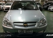 Chevrolet celta 2011 gris plata buen estado 77000 kms cars