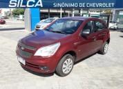 Chevrolet agile ls 2010 rojo 5 puertas 97000 kms cars