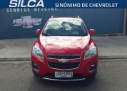 chevrolet tracker ltz at 2014 rojo 5 puertas 139139 kms cars