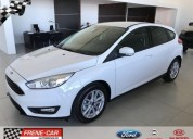 Ford focus 2018 hatch y sedan extra full 1 6 0km cars