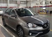 Toyota etios xls 2018 gris oscuro 0km cars