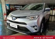 Toyota hybrid 2018 gris plata 0km cars