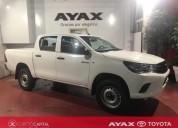 Toyota hilux dx 4x2 diesel 2018 blanco 0km cars