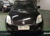 Suzuki swift vvt 1 5 2010 negro buen estado 99000 kms cars
