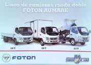 Foton aumark 2017 0km en montevideo