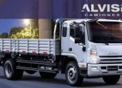 Jac 1083 carga 7 6 toneladas con caja de 6 20 metros iva en montevideo