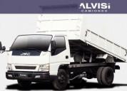 Volcadora carga 4 5 toneladas precio iva en montevideo