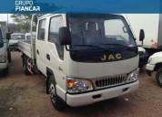 Jac 1040 camion 2 500 kg doble cabina 2018 0km en montevideo