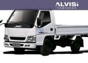 Jmc camion rueda sencilla con caja rebatible precio sin iva en montevideo