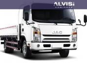 Jac 1063 5 5 toneladas con caja 2017 0km precio sin iva en montevideo