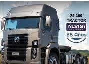 Volkswagen constellation tractor 6x2 a a iva en montevideo