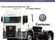 Volkswagen constellation tractor