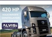Volkswagen camion tractor doble eje 420 hp iva en montevideo
