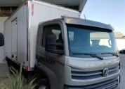 Volkswagen 6160 con furgon semi termico precio iva en montevideo