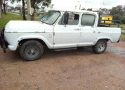 chevrolet c10 doble cabina 40000 kms