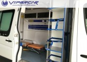 mercedes benz sprinter 415 ambulancia 2018 0km en montevideo