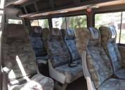 Camioneta sprinter para transporte y turismo con stu 17 pasajeros 450000 kms