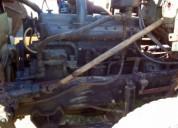 Motor scania 111 en ciudad de la costa